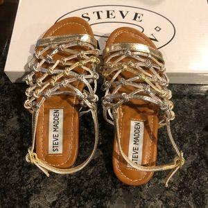 NEW!! Steve Madden Girls Sandals